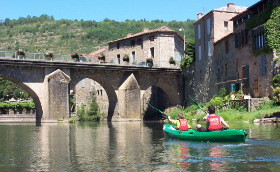 Descents in canoeing on the Aveyron