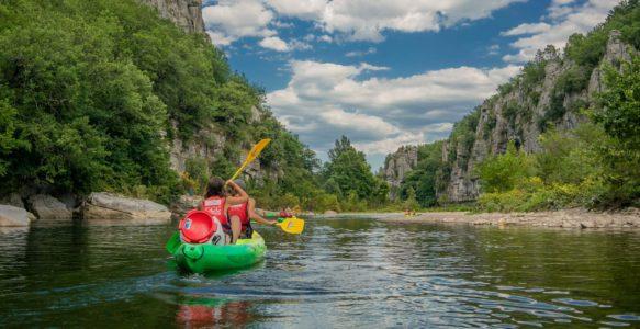 Le Chassezac en canoë-kayak