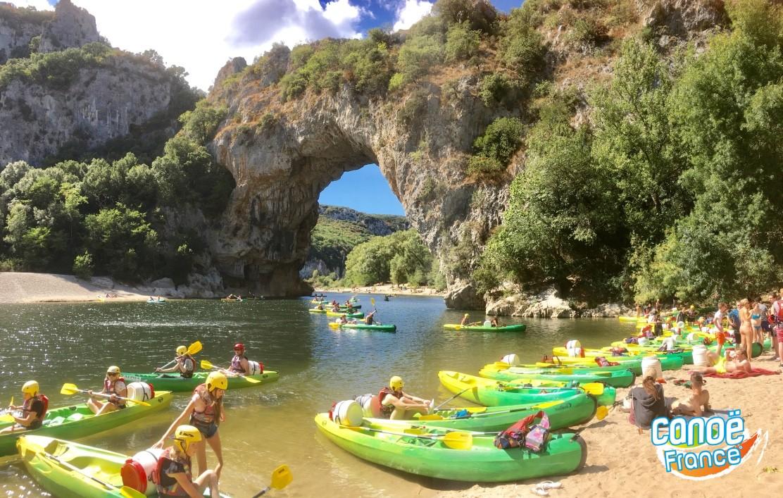 L'Ardèche en canoë-kayak