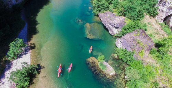 Le Tarn en canoë-kayak