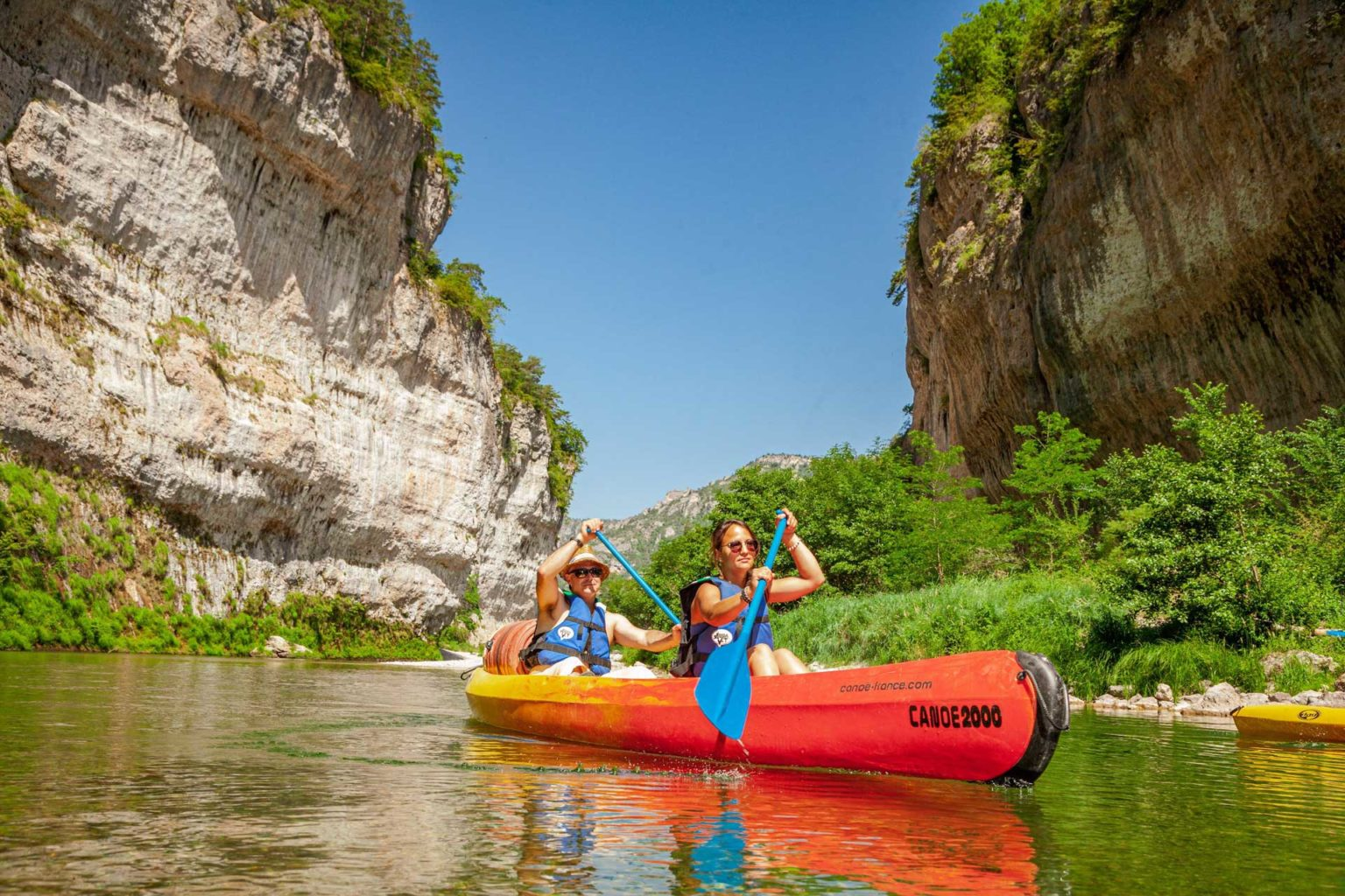 Canoe 2000 descentes en canoe Tarn