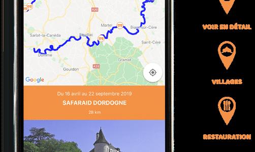 """Optimisez votre descente avec l'appli """"Canoë France»"""