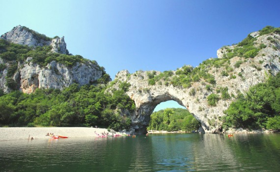 Kayaking on the Ardeche