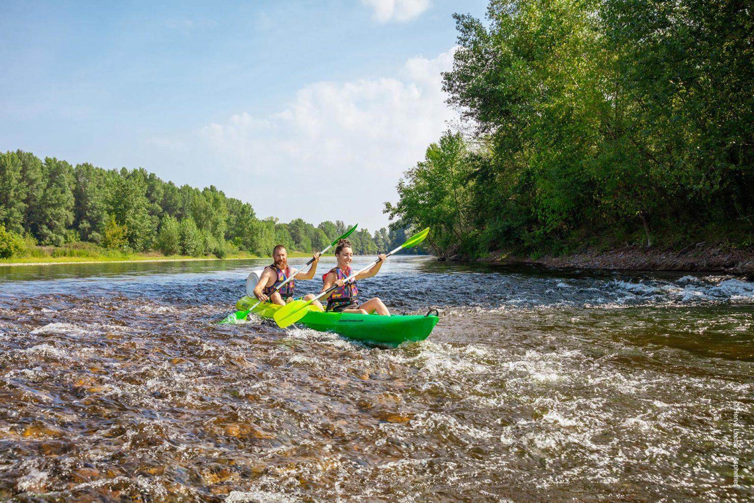 Safaraid loueur de canoes kayaks sur la Dordogne