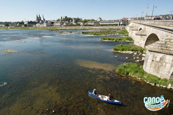 Pont de Blois sur la Loire - Canoë kayak