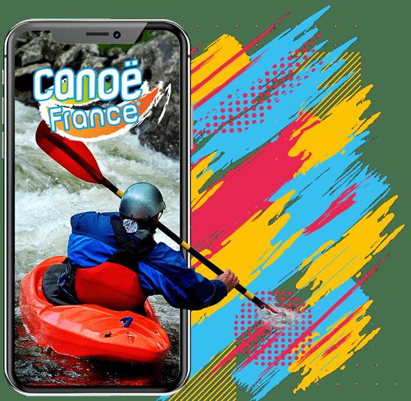 Appli mobile Canoë France