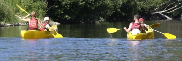 canoe kayak ceze Saint Ambroix Gard