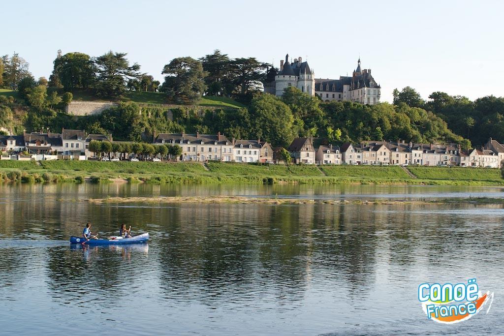 En canoë et kayak sur la Loire : Chaumont-sur-Loire