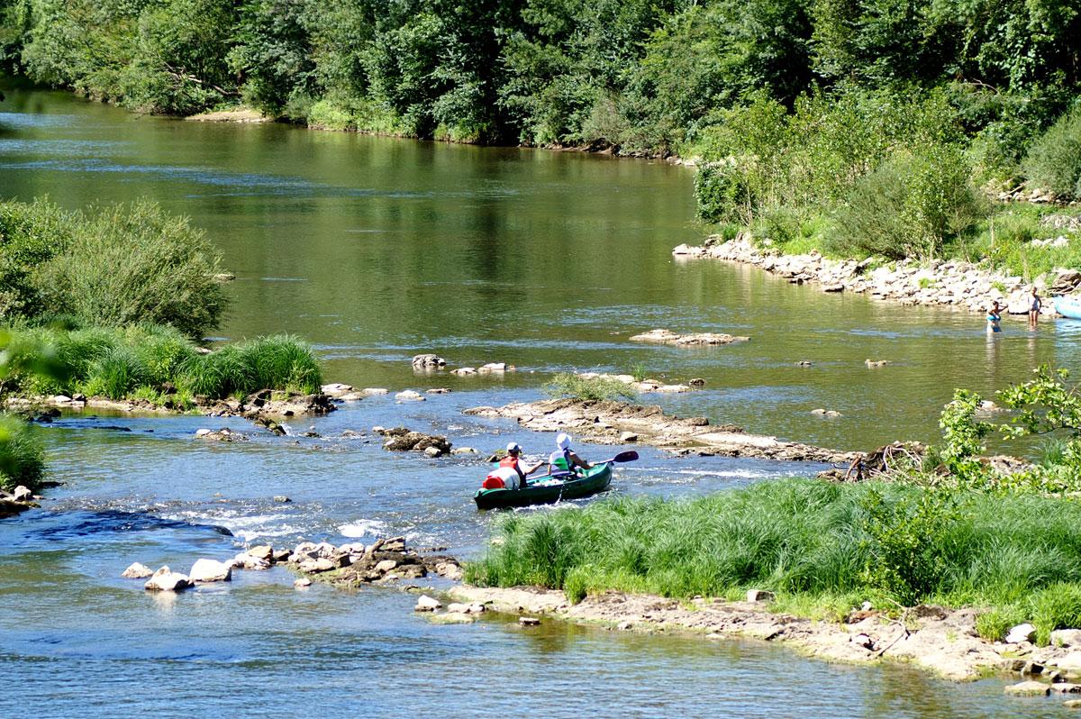 L'Aveyron en canoë-kayak