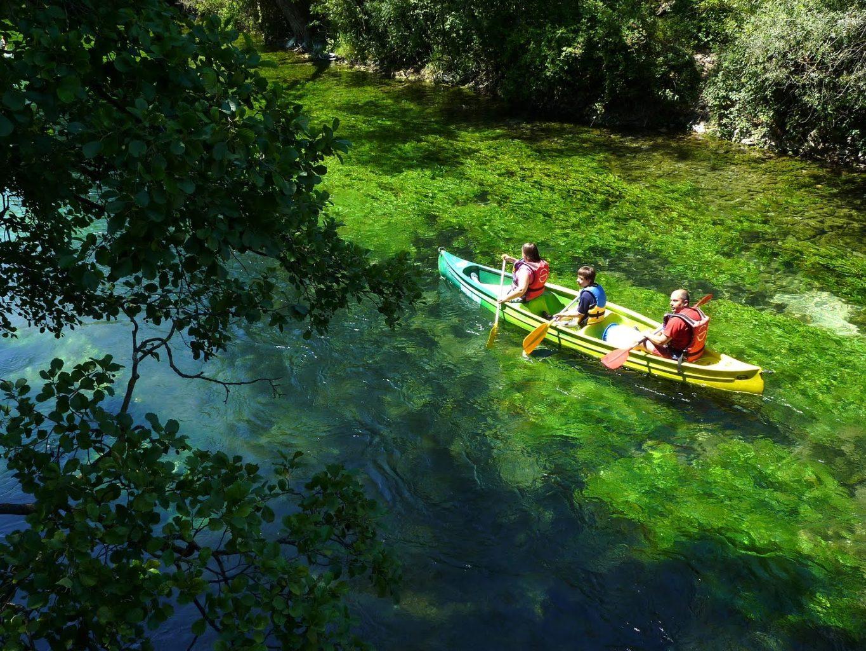 Parcours canoe kayak sur la Sorgue 84 Vaucluse