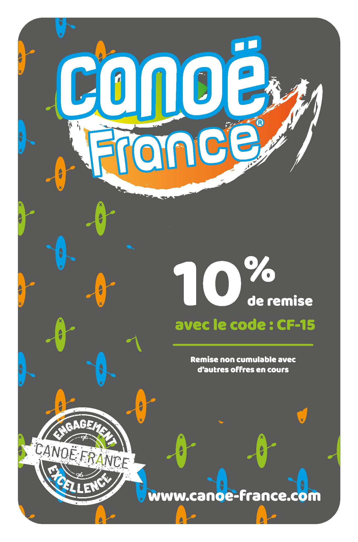 Carte de fidélité Canoe France
