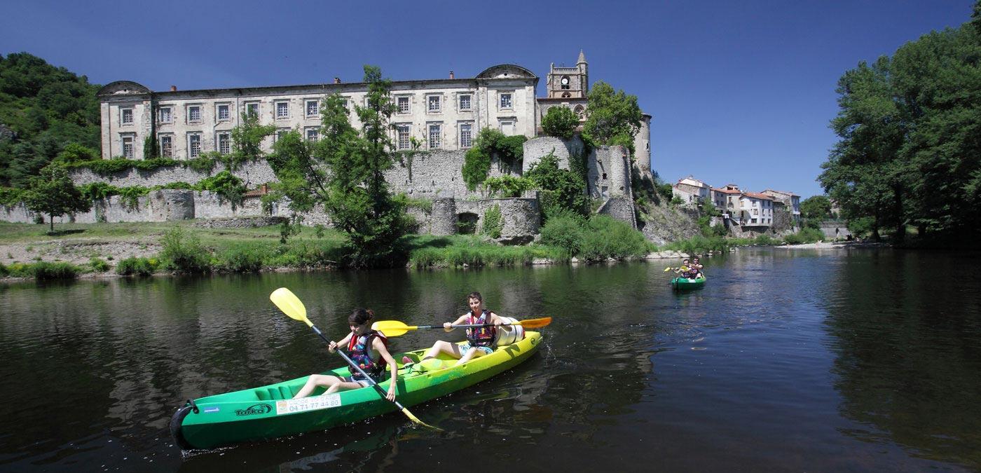 L'Allier en canoë-kayak