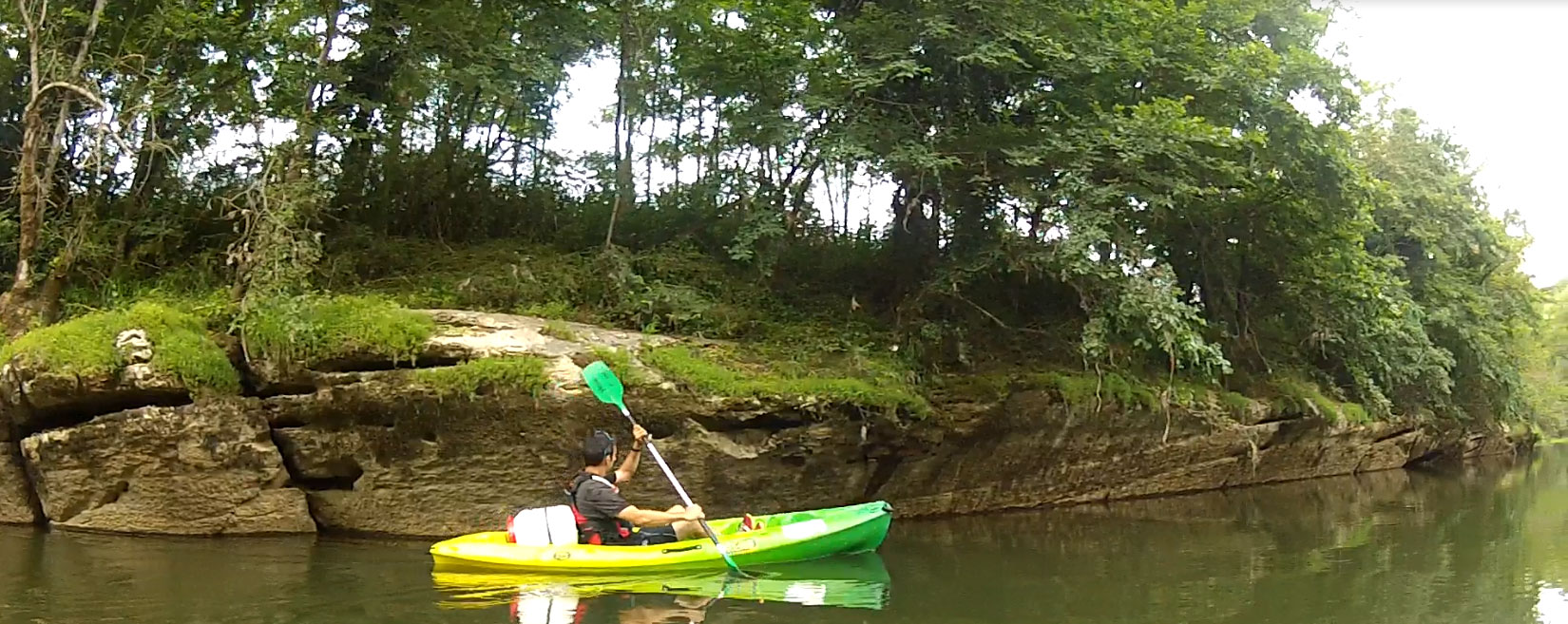 canoe kayak sur l'aveyron