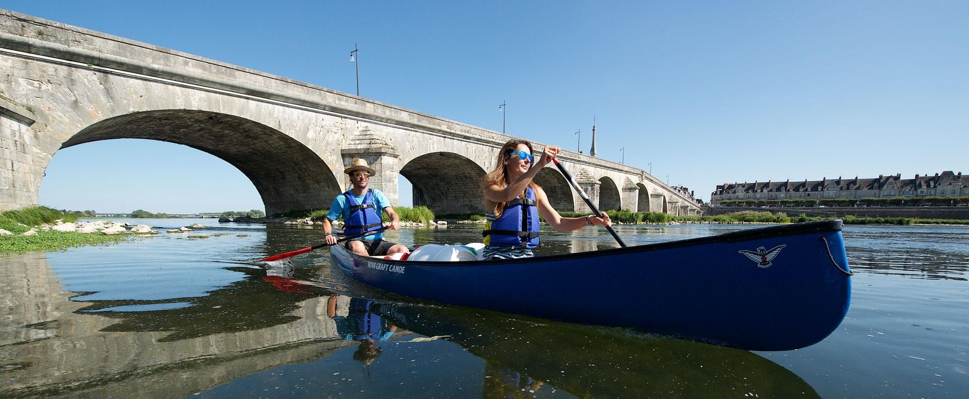 Descente en canoë sur la Loire