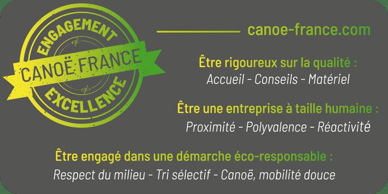 L'engagement Excellence de Canoë France