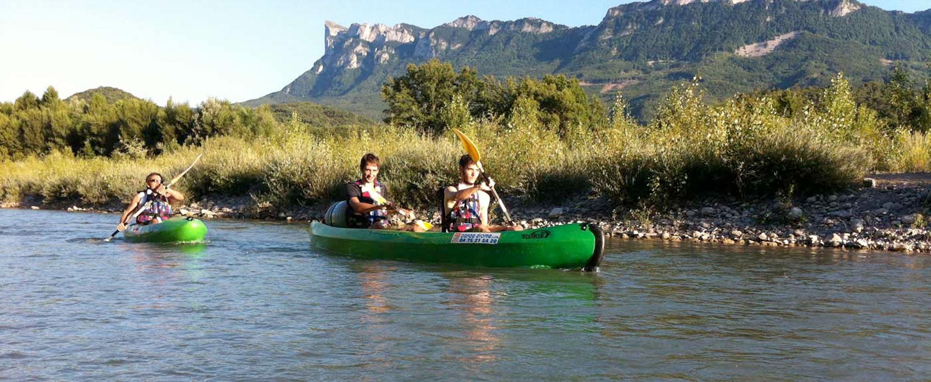 La Drôme en canoë-kayak
