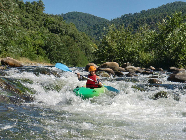 Kayak enfant Ardèche 07