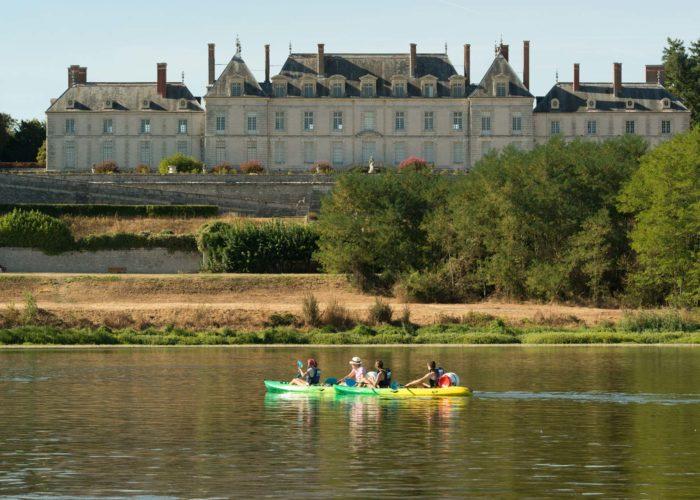 Les chateaux de la loire en canoe-kayak
