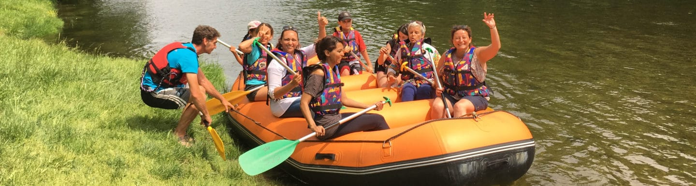 Rafting sur le Chassezac