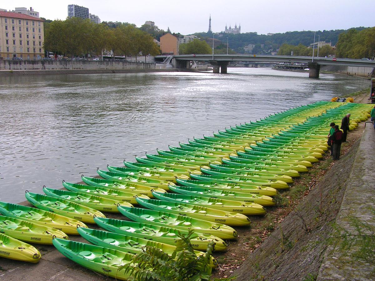 Raid en canoë et kayak en France