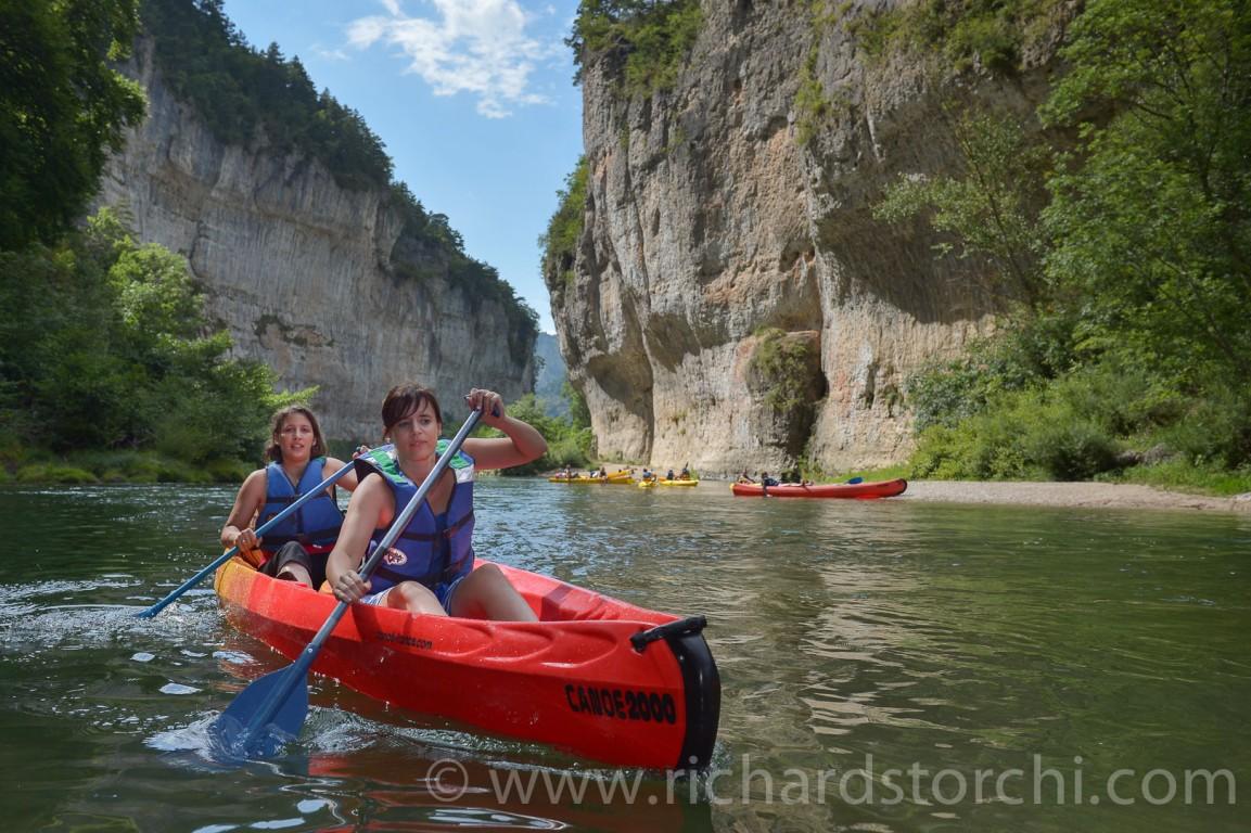 Canoe sur le Tarn